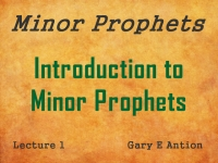 Listen to Introduction to Minor Prophets