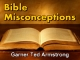 Bible Misconceptions