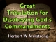 Outline of Prophecy 08 - Great Tribulation for Disobeying God's Commandments