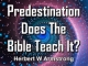 Predestination - Does The Bible Teach It?