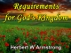 Requirements for God's Kingdom