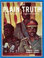 Cause of the Biafran Agony... Plain Truth Magazine March 1970 Volume: Vol XXXV, No.03 Issue: