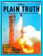 I SAW GEMINI 8 BLAST-OFF Plain Truth Magazine April 1966 Volume: Vol XXXI, No.4 Issue: