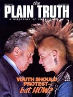 The United Nations at 40 Plain Truth Magazine July-August 1985 Volume: Vol 50, No.6 Issue: