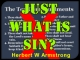 Just What is Sin?